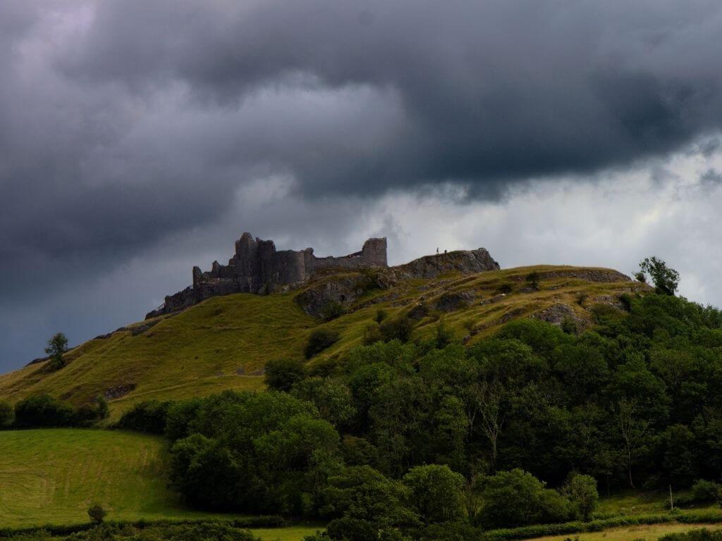 Carreg Cennen Castle, Llandeilo